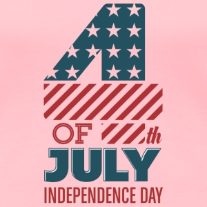 USA - 4th of July - Independence Day - July 4th T-Shirts - Women's Premium T-Shirt