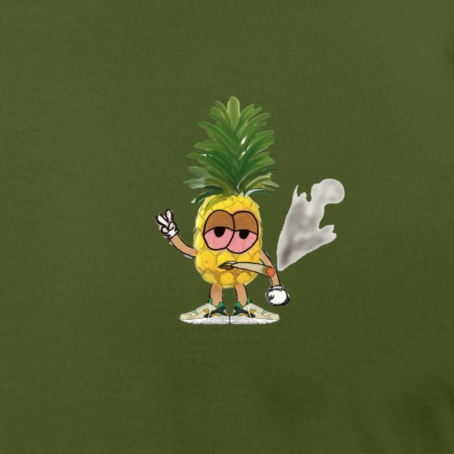 Men's Highnapple T Shirt : olive