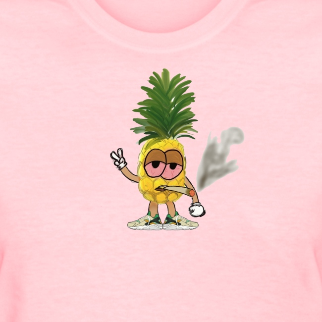 Women's Big Highnapple T-Shirt : pink