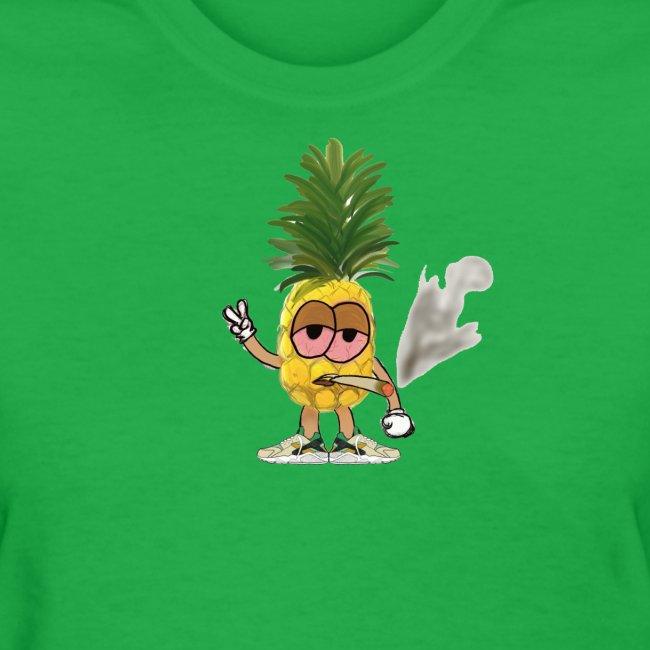 Women's Big Highnapple T-Shirt : bright green