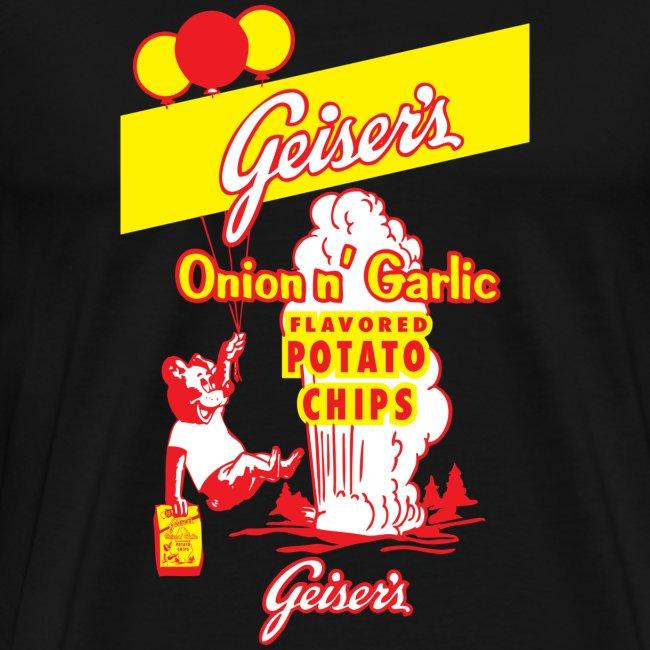 Geiser's Potato Chips - Men