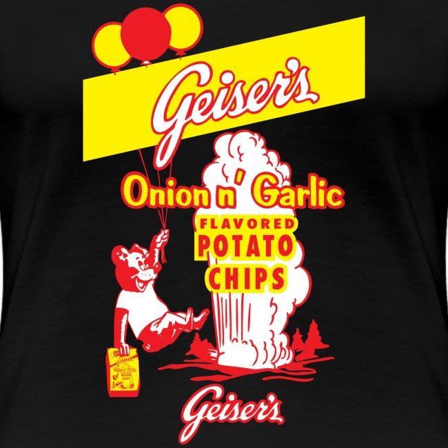 Geiser's Potato Chips - Women