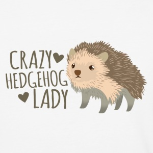crazy hedgehog lady T-Shirts - Baseball T-Shirt