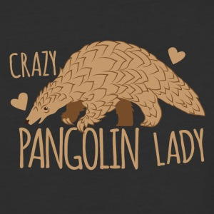 crazy pangolin lady T-Shirts - Baseball T-Shirt