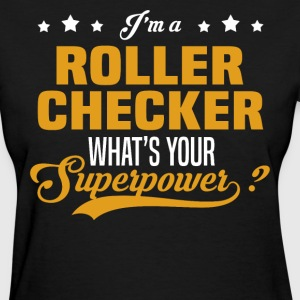 Roller Checker - Women's T-Shirt