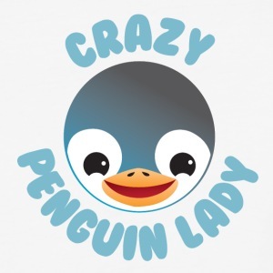 crazy penguin lady T-Shirts - Baseball T-Shirt