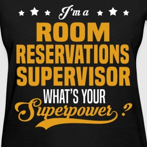 Room Reservations Supervisor - Women's T-Shirt