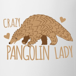 crazy pangolin lady Mugs & Drinkware - Coffee/Tea Mug