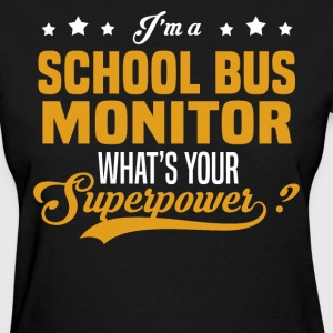 School Bus Monitor - Women's T-Shirt