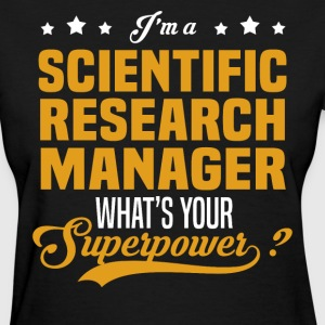 Scientific Research Manager - Women's T-Shirt
