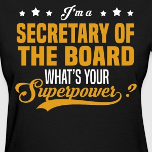 Secretary of the Board - Women's T-Shirt
