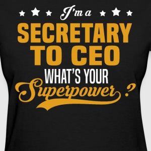 Secretary to CEO - Women's T-Shirt