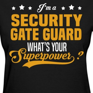 Security Gate Guard - Women's T-Shirt
