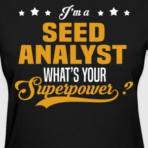 Seed Analyst - Women's T-Shirt