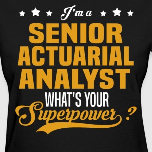Senior Actuarial Analyst - Women's T-Shirt