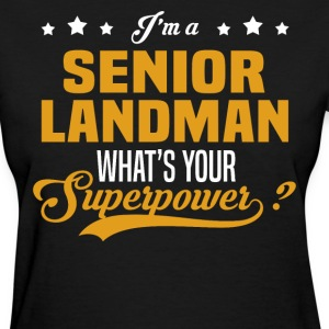 Senior Landman - Women's T-Shirt