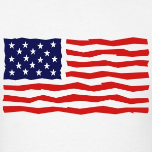 Stars And Stripes / USA / Flag T-Shirts - Men's T-Shirt