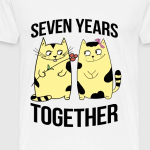 seven years together - Men's Premium T-Shirt