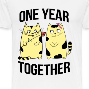 one years together - Men's Premium T-Shirt