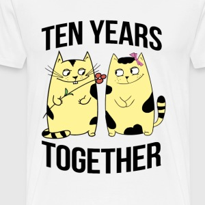 Ten years together - Men's Premium T-Shirt