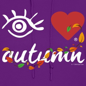 Eye-Love autumn - Women's Hoodie