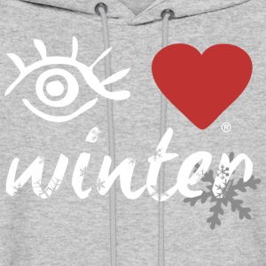 Eye-Love winter - Men's Hoodie