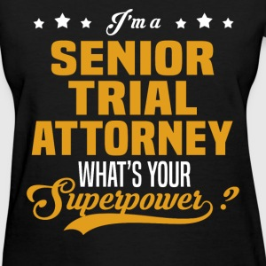 Senior Trial Attorney - Women's T-Shirt