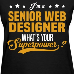 Senior Web Designer - Women's T-Shirt