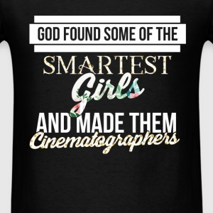 Cinematographers - God found some of the smartest  - Men's T-Shirt