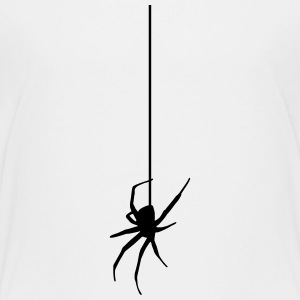 Spider on a thread Kids' Shirts - Kids' Premium T-Shirt