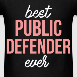Public Defender - Best public defender ever - Men's T-Shirt