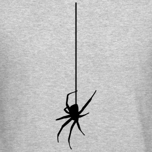 Spider on a thread Long Sleeve Shirts - Crewneck Sweatshirt