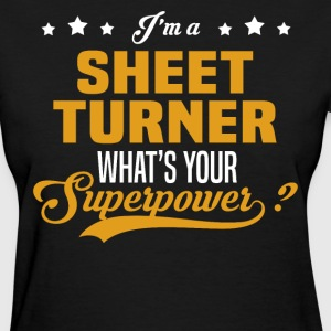 Sheet Turner - Women's T-Shirt