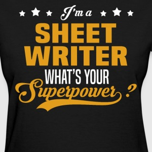 Sheet Writer - Women's T-Shirt