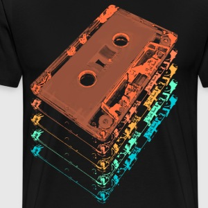 Cassette Tapes - Men's Premium T-Shirt