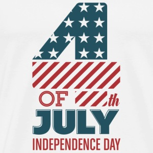 USA - July 4th - Independence Day T-Shirts - Men's Premium T-Shirt