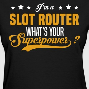 Slot Router - Women's T-Shirt