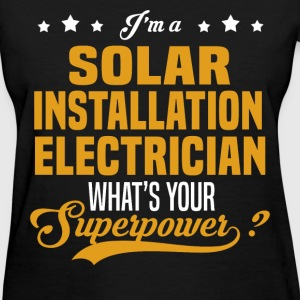 Solar Installation Electrician - Women's T-Shirt