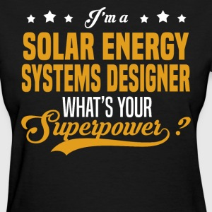 Solar Energy Systems Designer - Women's T-Shirt