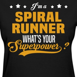 Spiral Runner - Women's T-Shirt