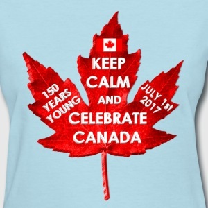 KEEP CALM 150 YEARS CANADA 3D - Women's T-Shirt
