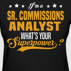 Sr. Commissions Analyst - Women's T-Shirt