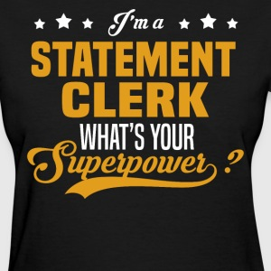 Statement Clerk - Women's T-Shirt