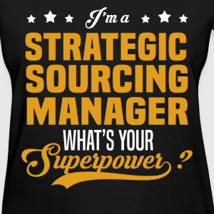 Strategic Sourcing Manager - Women's T-Shirt