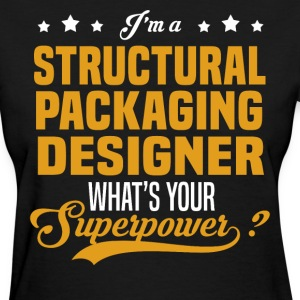 Structural Packaging Designer - Women's T-Shirt