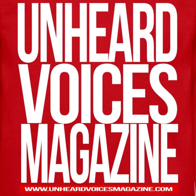 Unheard Voices Magazine Crew Neck (Red)