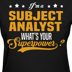 Subject Analyst - Women's T-Shirt
