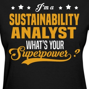 Sustainability Analyst - Women's T-Shirt