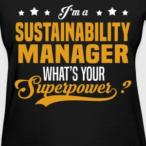 Sustainability Manager - Women's T-Shirt