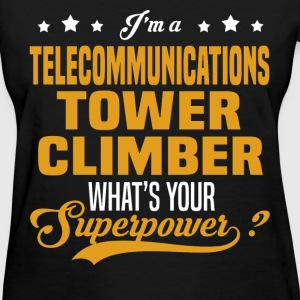 Telecommunications Tower Climber - Women's T-Shirt